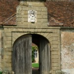 Eingangstor Château de Promenois